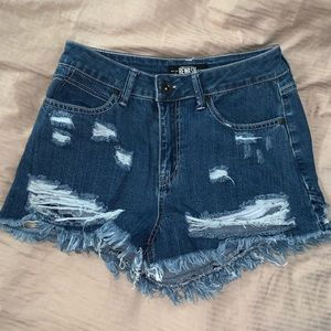 Rewash high waisted shorts
